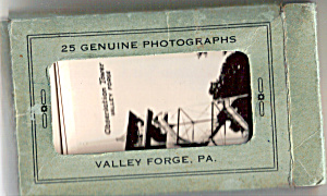 Valley Forge, Pennsylvania Souvenir Folder Sf0458