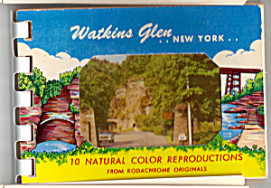 Watkins Glen, New York Souvenir Folder Sf0469