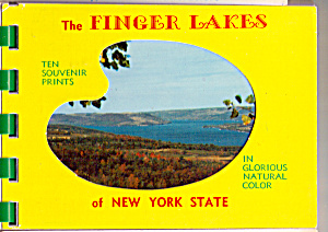 The Finger Lakes New York Souvenir Folder Sf0479