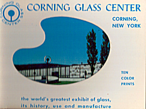 Corning Glass Center, New York Souvenir Folder Sf0480