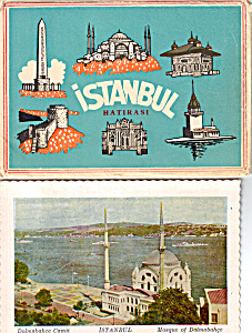 Istanbul,Turkey Postcard Folder (Image1)