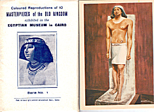 Masterpieces of the Old Kingdom Egypt Souvenir Folder sf0495 (Image1)