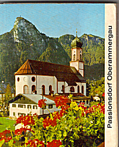 Views Of Passiondorf Oberammergau Germany Sf0500