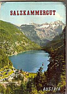 Views Of Salzkammergut, Austria Souvenir Folder Sf0503