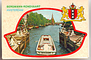 Views Of Amsterdam, Netherlands Souvenir Folder Sf0512