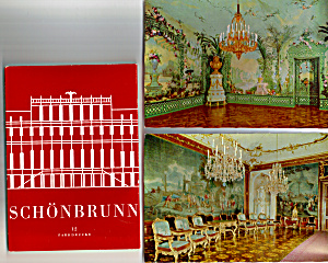 Schoenbrunn Palace Austria Postcards in Souvenir Folder   sf0528 (Image1)