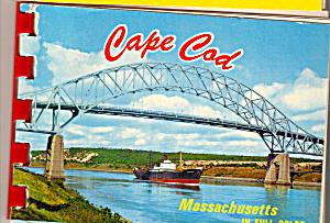Cape Cod, Massachusetts Souvenir Folder  sf0530 (Image1)