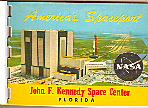 America S Spaceport Florida Souvenir Folder Sf0533