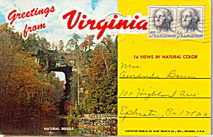 Virginia Pictorial View Folder
