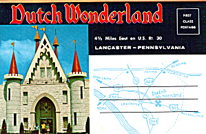 Dutch Wonderland, Lancaster Pa Souvenir Folder Sf0569