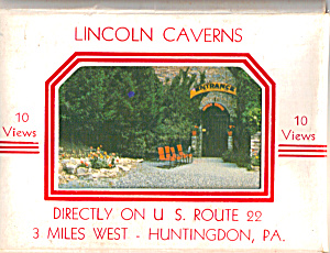 Lincoln Caverns, Pennsylvania Souvenir Folder (Image1)