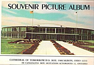 Cathedral of Tomorrow, Akron, Ohio Souvenir Folder sf0577 (Image1)