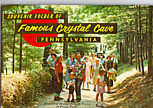 Crystal Cave Pennsylvania Souvenir Folder sf0582 (Image1)