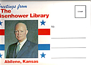 Eisenhower Library Souvenir Folder Sf0586
