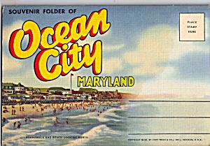 Ocean City Maryland Souvenir Folder sf0604 (Image1)