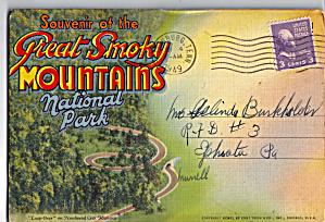 Great Smoky Mountains National Park Souvenir Folder (Image1)