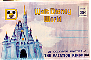 Walt Disney World Souvenir Folder Sf0612