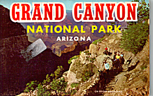 Grand Canyon National Park Souvenir Folder Sf0621