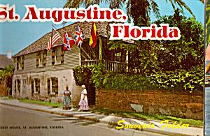St Augustine, FL, Souvenir Folder  sf0628 (Image1)