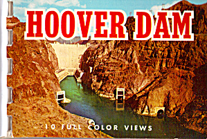 Hoover Dam Souvenir Folder Sf0634