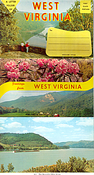 West Virginia Souvenir Folder Sf0639