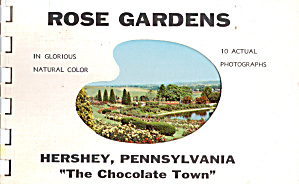 Hershey, Pa The Chocolate Town Souvenir Folder Sf0640