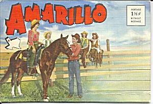 Amarillo, Texas Souvenir Folder sf0661 (Image1)