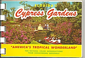 Florida S Cypress Gardens Souvenir Folder Sf0657