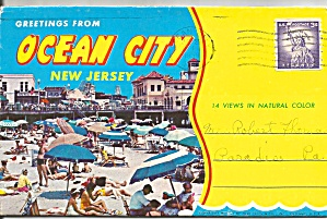 Ocean City, New Jersey Souvenir Folder (Image1)