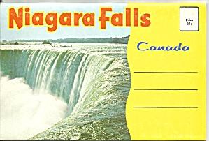 Niagara Falls, Canada  Souvenir Folder sf0678 (Image1)