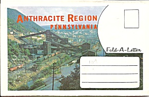 Anthracite Reigion Of Pennsylvania Souvenir Fold Sf0684