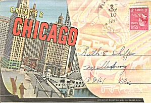 Chicago, Illinois Souvenir Folder Sf0688