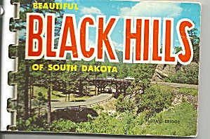 Black Hills of South Dakota Souvenir Folder  (Image1)