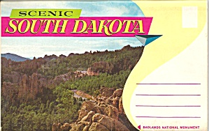 Scenic South Dakota Souvenir Folder (Image1)
