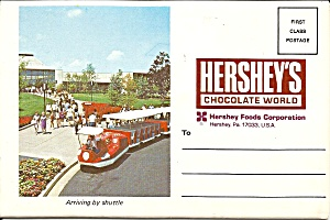 Hershey S Chocolate World Souvenir Folder Sf0697