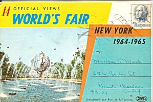 Official Views Of New York World S Fair 1964-65 Sf0700