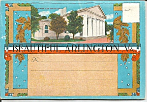 Arlington Natioal Cemetery Souvenir Folder Sf0721