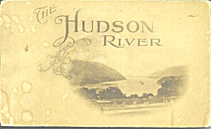 The Hudson River In 19 Detachable Vintage Postcards Sf0728