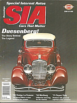 Special Interest Autos Duesenberg Story Behind The Legend Sia01 12