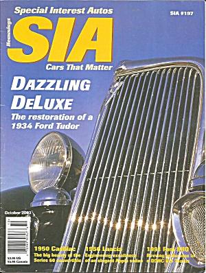 Special Interest Autos 1934 Ford Tudor Restoration SIA03 10 (Image1)