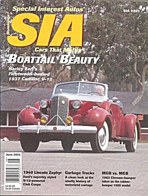 Special Interest Autos 1937 Cadillac V 12 Boattail Beauty SIA04 06 (Image1)