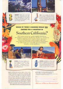 Southern California All Year Club Ad 1940s (Image1)