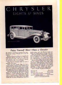 Chrysler   Ad 1931 (Image1)