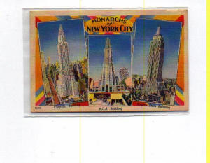 Monarchs of New York City Postcard t0037 (Image1)