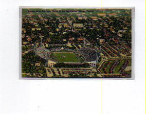 Orange Bowl Miami Fl Postcard T0038