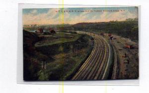 New York City & H R R R Postcard t0057 (Image1)