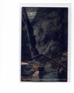 Steam Train Royal Gorge AR Postcard t0080 (Image1)