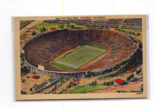 Rose Bowl 1939 Postcard t0086 (Image1)
