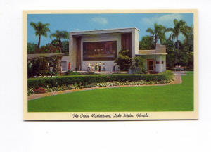 Lake Wales FL Great Masterpiece Postcard t0121 (Image1)