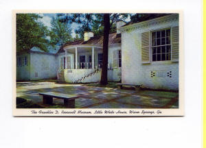 Fdr Museum Warm Springs Postcard T0133